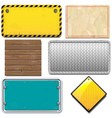 industrial frame set vector image