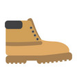 isolated winter shoe vector image vector image