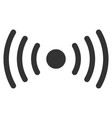 wi-fi point flat icon vector image vector image