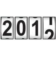 2012 new year counter vector | Price: 1 Credit (USD $1)
