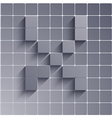 abstract alphabet Eps10 vector image vector image