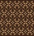 beauty flower motifs on bantul batik design vector image vector image