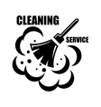 cleaning service icon vector image