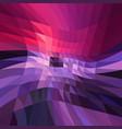 dark pink blue polygonal pattern shining vector image vector image