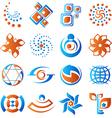 Design elements set 1 vector image vector image