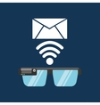 Glasses technology email application media