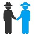 Man Handshake Icon vector image vector image