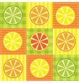 patchwork fruit vector image