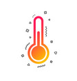 thermometer sign icon temperature symbol vector image vector image