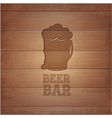 Beer octoberfest poster vector image vector image