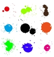 Colored blobs set vector image