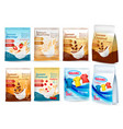 laundry detergent ad white clothes hanging on vector image