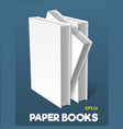 mock-ups of paper books-08 vector image