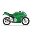 motorcycle 04 vector image vector image