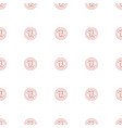 no phone icon pattern seamless white background vector image vector image