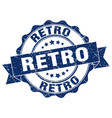 retro stamp sign seal vector image vector image