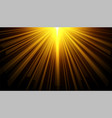 black background with glowing light effect design vector image