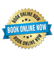 Book online now 3d gold badge with blue ribbon