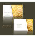 design elements of the business business cards vector image vector image