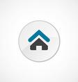 Home icon 2 colored vector image
