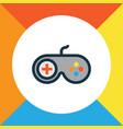 joystick colorful outline symbol premium quality vector image vector image