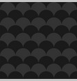stylish seamless dark pattern black and grey vector image vector image