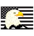 usa eagle flag image vector image vector image