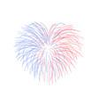 beautiful heart-firework bright romantic salute