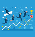 business concept various peoples vector image vector image
