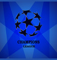 champion sports league logo vector image