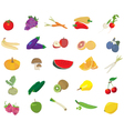 Fruits and Veges vector image