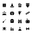 Halloween Traditional Icons Isolated vector image