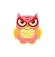 Mischievous Pink Owl vector image