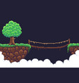 pixel game background vector image vector image