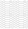 Snake skin texture Seamless pattern black and vector image vector image