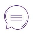 speech bubble message chat talk concept icon vector image