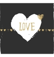 valentines day and wedding greeting card and vector image