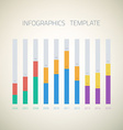 Web Infographic Timeline bar Template Layout could vector image