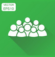 group of people icon business concept persons vector image
