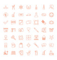 49 shadow icons vector image vector image