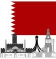 Bahrain vector image