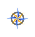 compass abstract icon elament