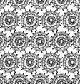 Grey Floral Patterned Background vector image