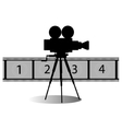 Movie icon vector image
