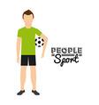 people sport vector image vector image