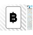 thai baht card with bonus vector image vector image