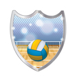 Volleyball Badge Emblem vector image vector image