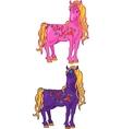 Cute Magic Horse vector image