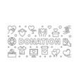 Donation horizontal donating