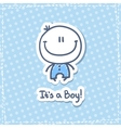 its a boy vector image vector image